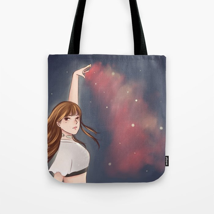 d0e95c6c0cc0 Blackpink Lisa Tote Bag By Sugarycontent Society6. Blackpink Closet On  Twitter 180207 Prada Comics Collection