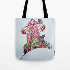 funny house Tote Bag