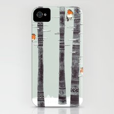Robin Trees iPhone (4, 4s) Slim Case