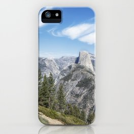 Half Dome from Washburn Point iPhone Case
