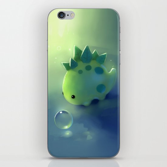 mini dino iPhone & iPod Skin