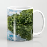 central park Mugs featuring Central Park by hannes cmarits (hannes61)
