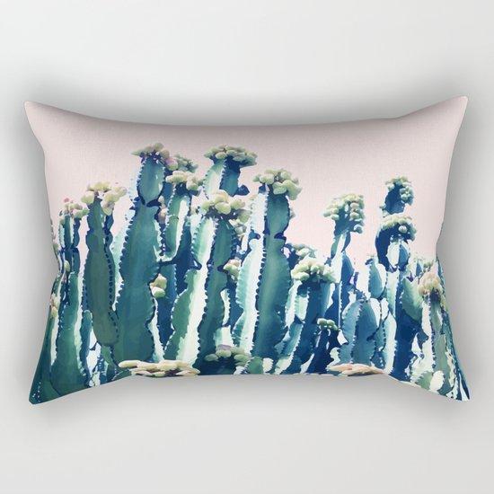 Cactus V5 #society6 #decor #buyart Rectangular Pillow