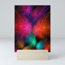 Butterfly Lightshow Mini Art Print