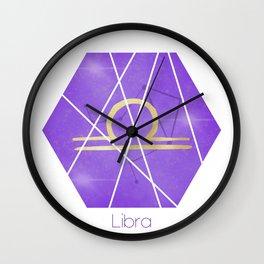 Libra - Zodiac sign Wall Clock