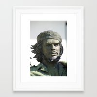 che Framed Art Prints featuring Che by Leorevenue