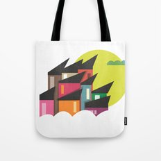 Houses of Colors Tote Bag