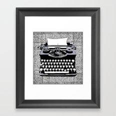 tyPOLOgy Framed Art Print