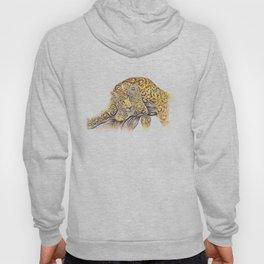 Swirly Leopard Hoody