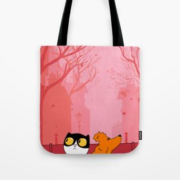 Thoughtful Dharma & Maya Tote Bag
