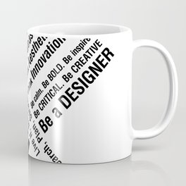 Graphic Design. Wake Up Coffee Mug