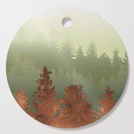 Treescape Green Cutting Board