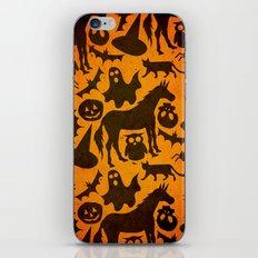 Halloween Spook Unicorn iPhone & iPod Skin