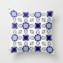 Portuense Tile Throw Pillow
