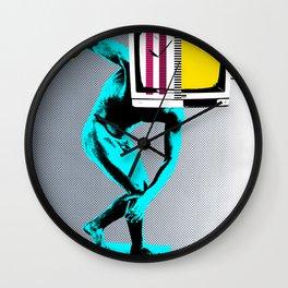 Diskus TV Wall Clock