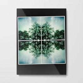 Munich Trees Metal Print