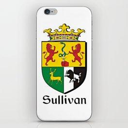 Family Crest - Sullivan - Coat of Arms iPhone Skin
