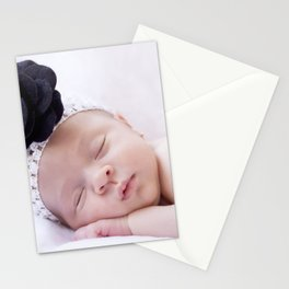 Baby girl Stationery Cards