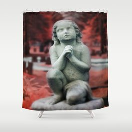 Kneel and Pray  Shower Curtain
