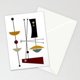 Mid Century Art 11 Stationery Cards