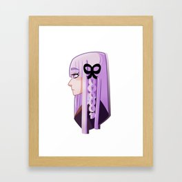 Kyoko Kirigiri. Framed Art Print