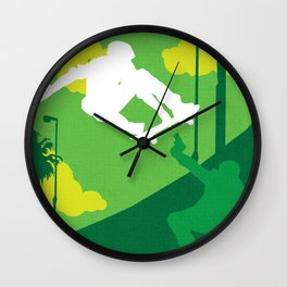 80s TEEN MOVIES :: GLEAMING THE CUBE Wall Clock