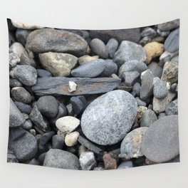 More Rocks Pebbles Stones :: Alaskan Sand Wall Tapestry