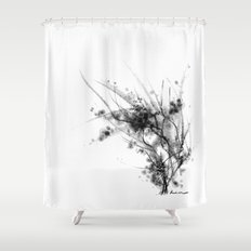 cool sketch 62 Shower Curtain