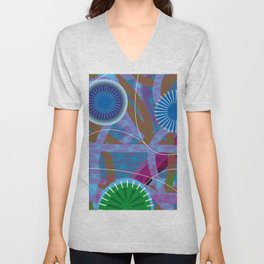 Summer Night Unisex V-Neck