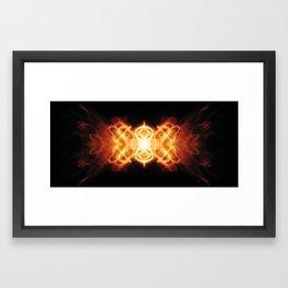 Infinity on its side Framed Art Print