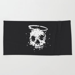 The Angel and The Gambler Beach Towel