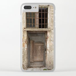Door number thirteen (13) Clear iPhone Case