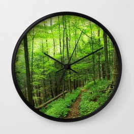 Forest 6 Wall Clock