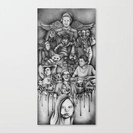 Metaphors - Youtubers Canvas Print