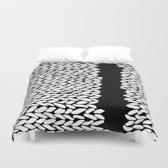 Missing Knit On Side Duvet Cover