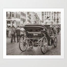 Piazza di Spagna - Rome, Italy Art Print