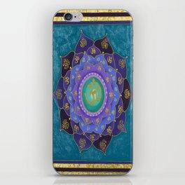 Spiritual Aspiration Mandala iPhone Skin