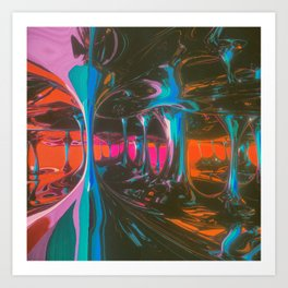 SLOWDRIP (everyday 09.24.16) Art Print