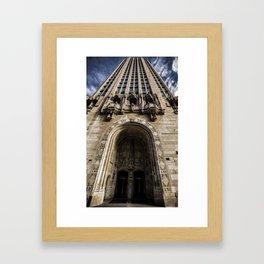 Chicago Tribune Building Framed Art Print