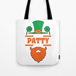 """""""It's Patty Time""""  tee design. Makes an awesome gift to your family and friends too! Grab your now!  Tote Bag"""