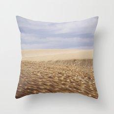 Dramatic Sand Dunes Throw Pillow