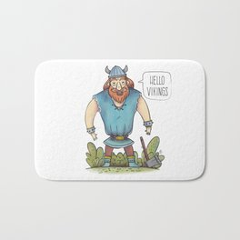 Hello Viking Bath Mat