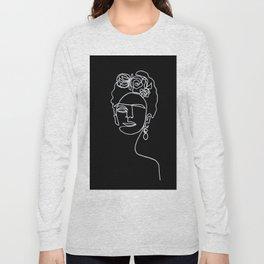 Frida Kahlo BW Long Sleeve T-shirt