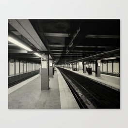 The City Sleeps Canvas Print