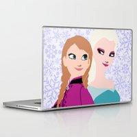 frozen Laptop & iPad Skins featuring Frozen by Sammycrafts