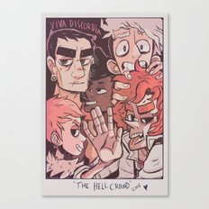 Hell's Poster Children Canvas Print
