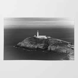 South Stack Lighthouse - Mono Rug