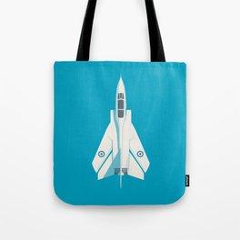 Tornado Swing Wing Jet - Cyan Tote Bag