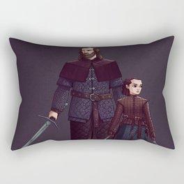 the Hound and Aria Rectangular Pillow