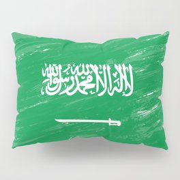 Saudi Arabia's Flag Design Pillow Sham